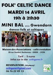 celtigone - initiation danses celtiques du MARDI  24 fevrier