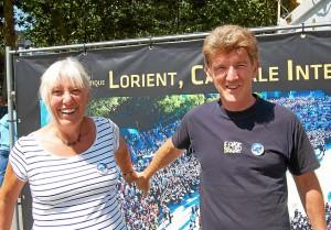 Josiane Ventadour et Hubert Cheyssial, membres de Celtigone, ont l'Interceltique dans les tripes.